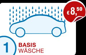Icon Preis PKW-Basis-Wäsche Hempelmann Tankstellen