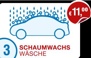 Icon Preis PKW-Schaumwachs-Wäsche Hempelmann Tankstellen