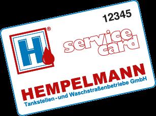 Servicecard Hempelmann Tankstellen