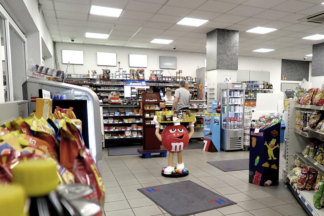 Hempelmann Tankstelle Bünde Shop