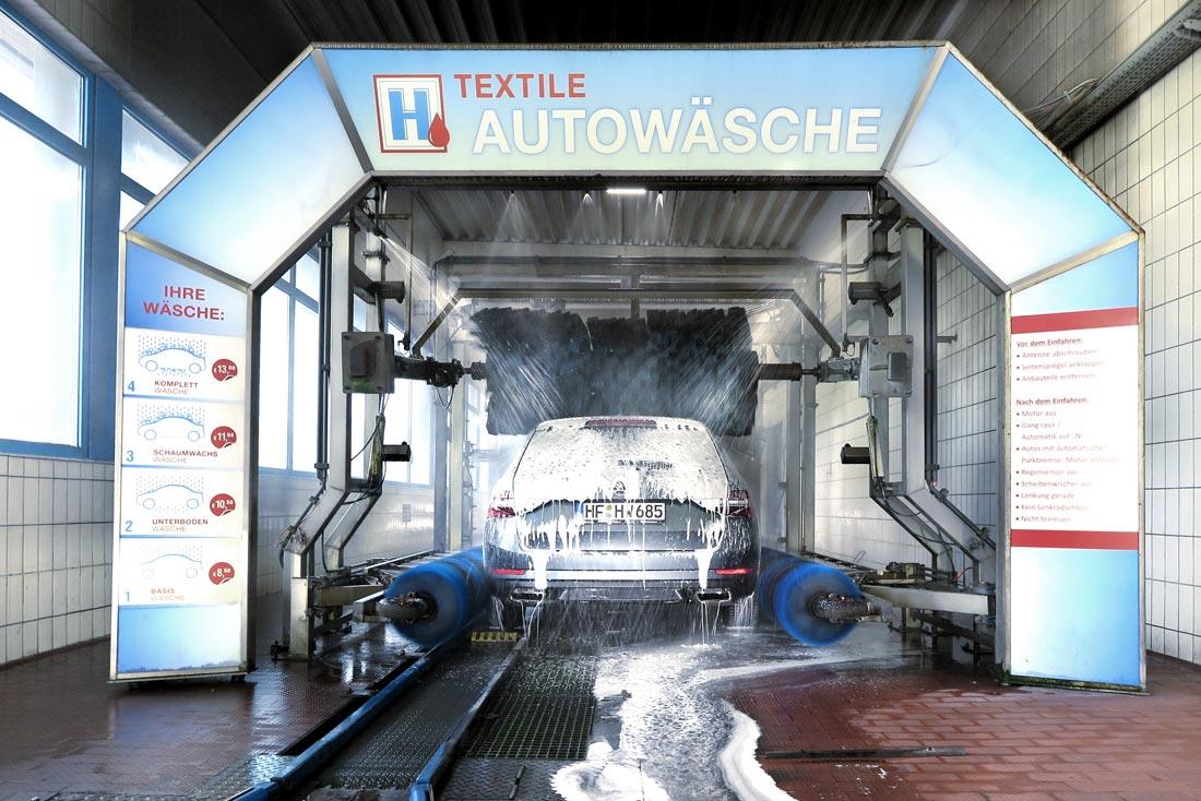 Hempelmann Tankstelle Hiddenhausen PKW-Wäsche