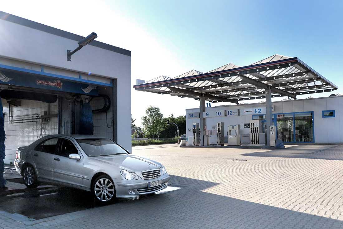 Hempelmann Tankstelle Kirchlengern Hüller Kreuz Autowäsche