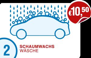 Icon Preis PKW-Schaumwachs-Wäsche Hempelmann Tankstellen Kirchlengern