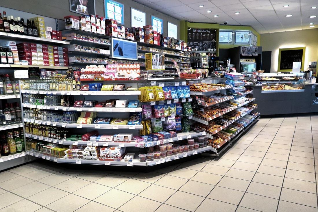 Hempelmann Tankstelle Hiddenhausen Shop Bistro