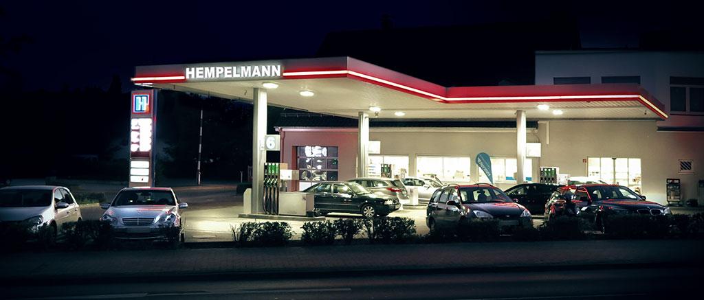 Hempelmann Tankstelle Bünde
