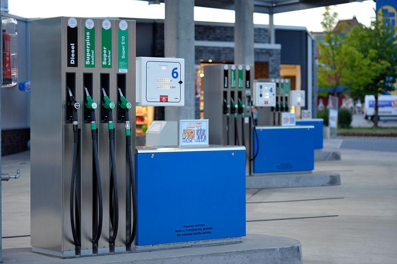 Hempelmann Tankstelle Centertank Herford Zapfsäulen