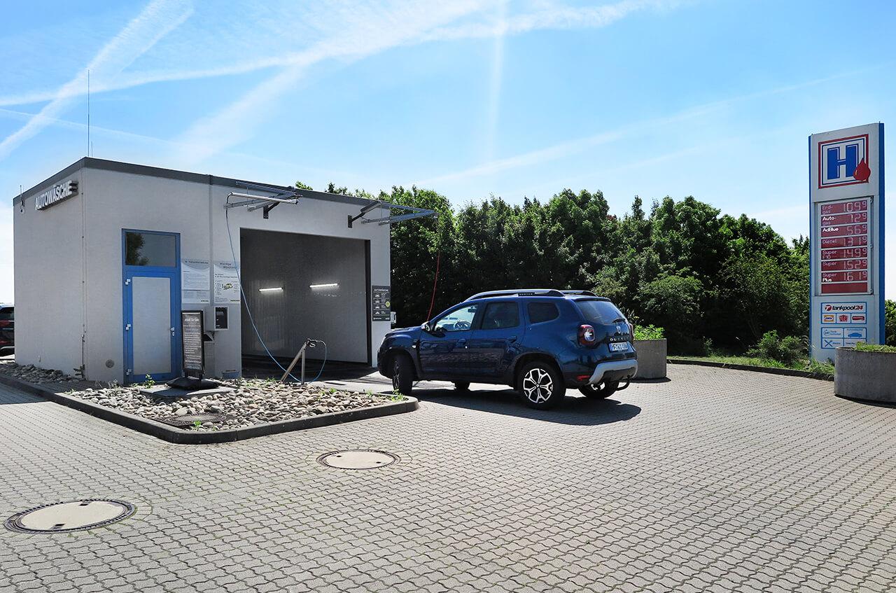 Hempelmann Tankstelle Kirchlengern Autowäsche
