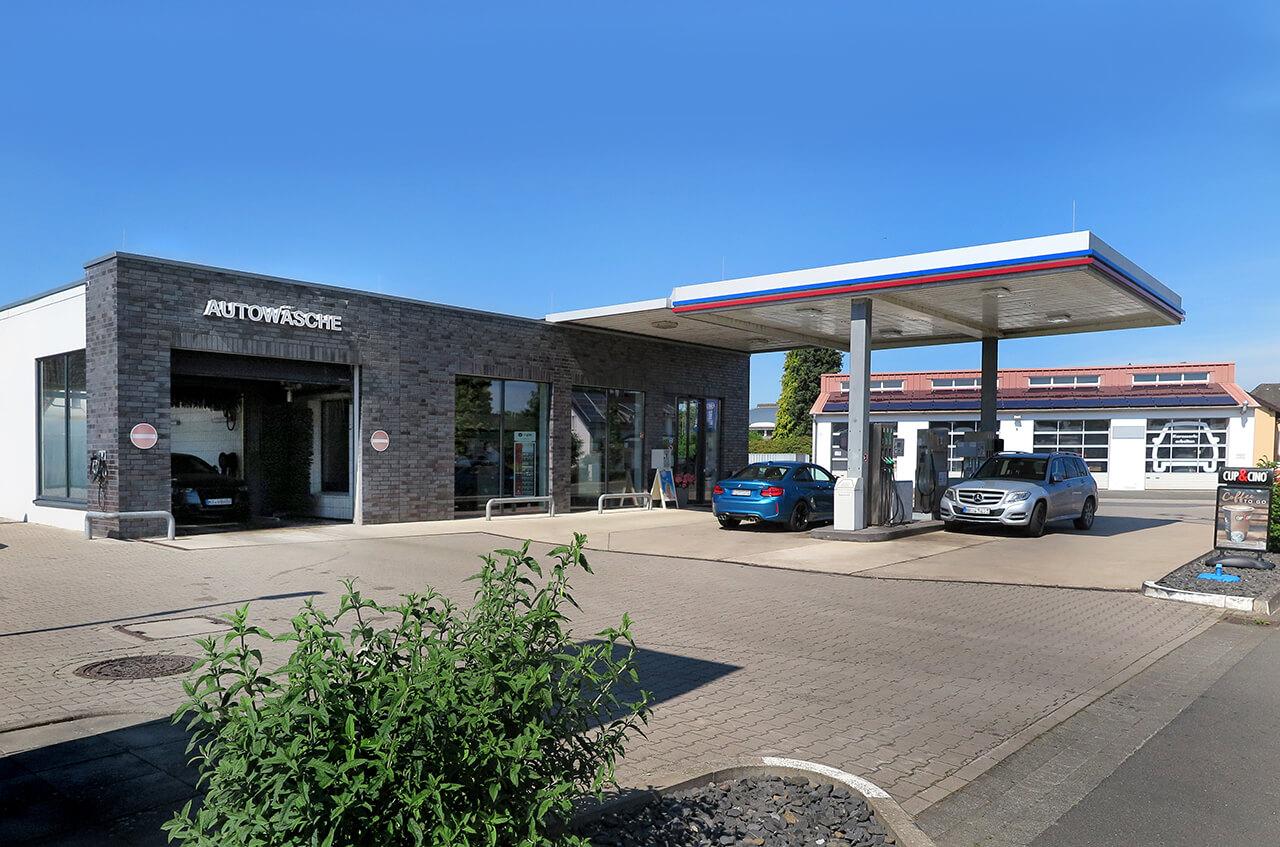 Hempelmann Tankstelle Preussisch Oldendorf Autowäsche Shop