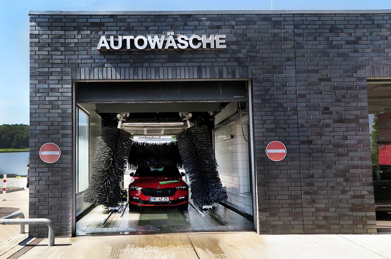 Hempelmann Tankstelle Preussisch Oldendorf Autowäsche