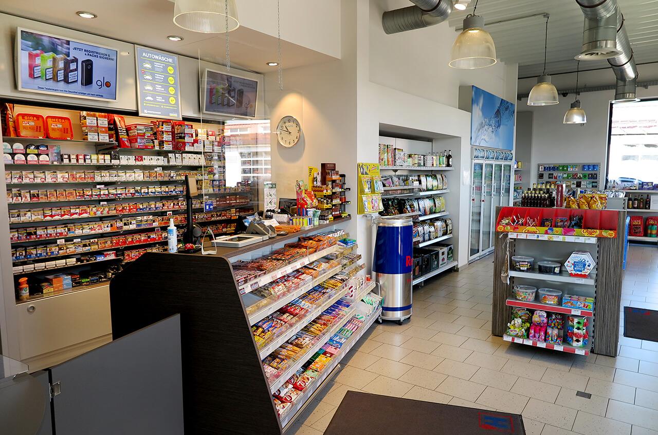 Hempelmann Tankstelle Preussisch Oldendorf Shop