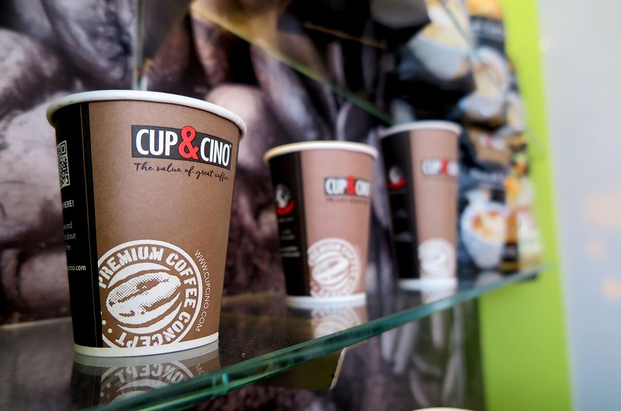 Hempelmann Tankstellen Shop Cup and Cino