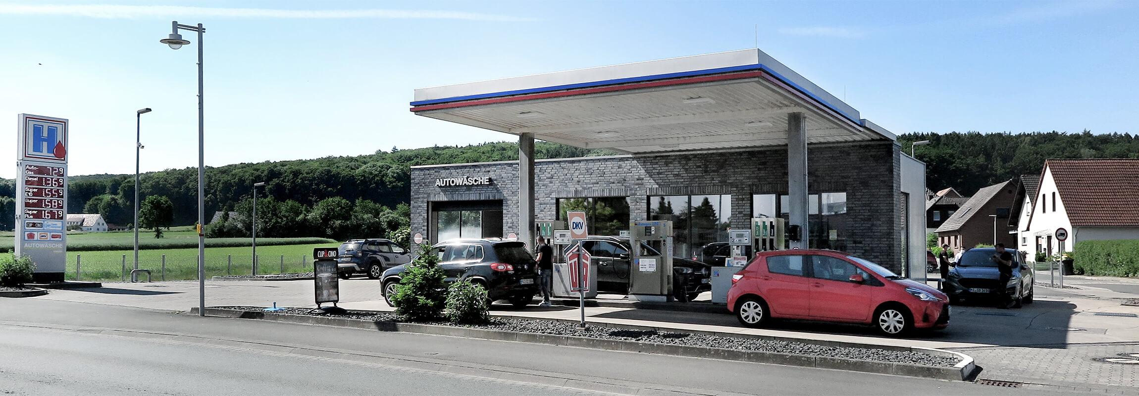 Hempelmann Tankstellen Preussisch Oldendorf Header 2021